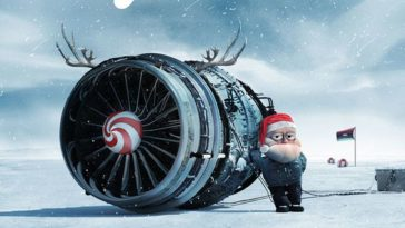 affiches publicitaires Noël