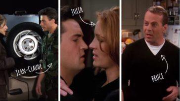 acteurs invités dans la série Friends