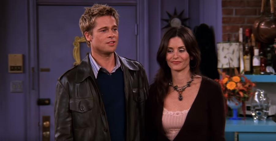 Brad pitt guest star friends série
