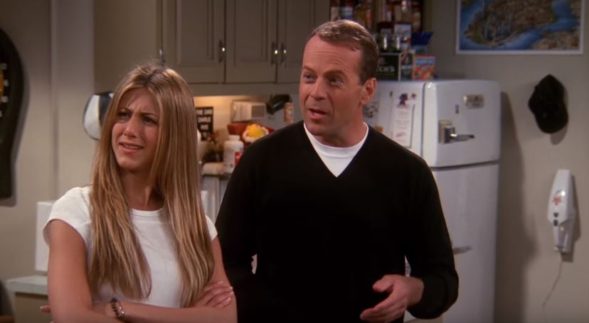 bruce willis dans friends guest star