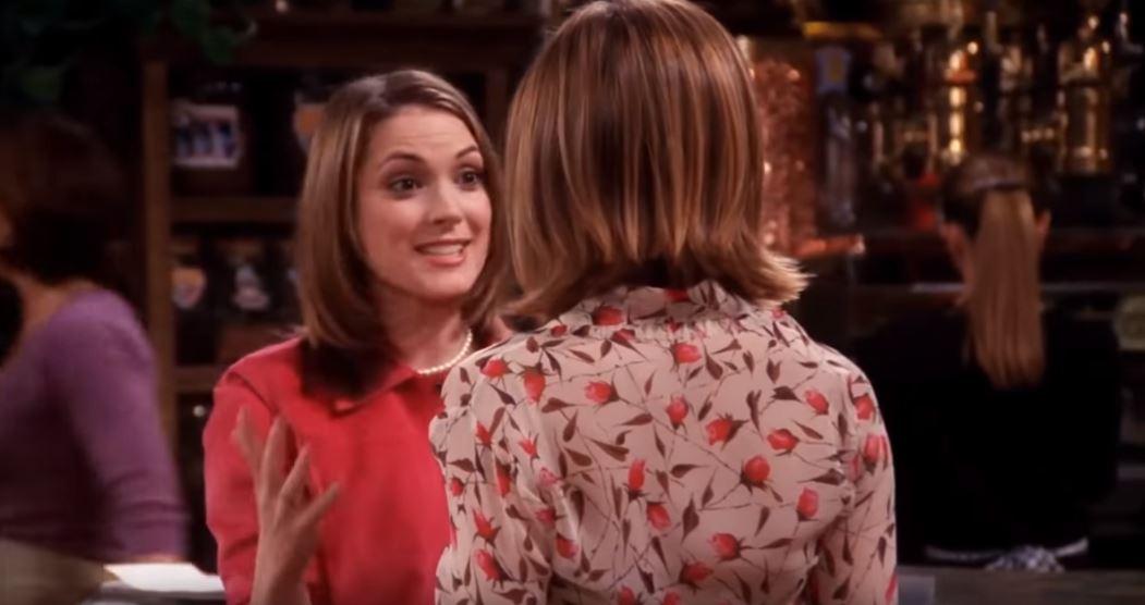 Winona Rider dans série Friends guest star