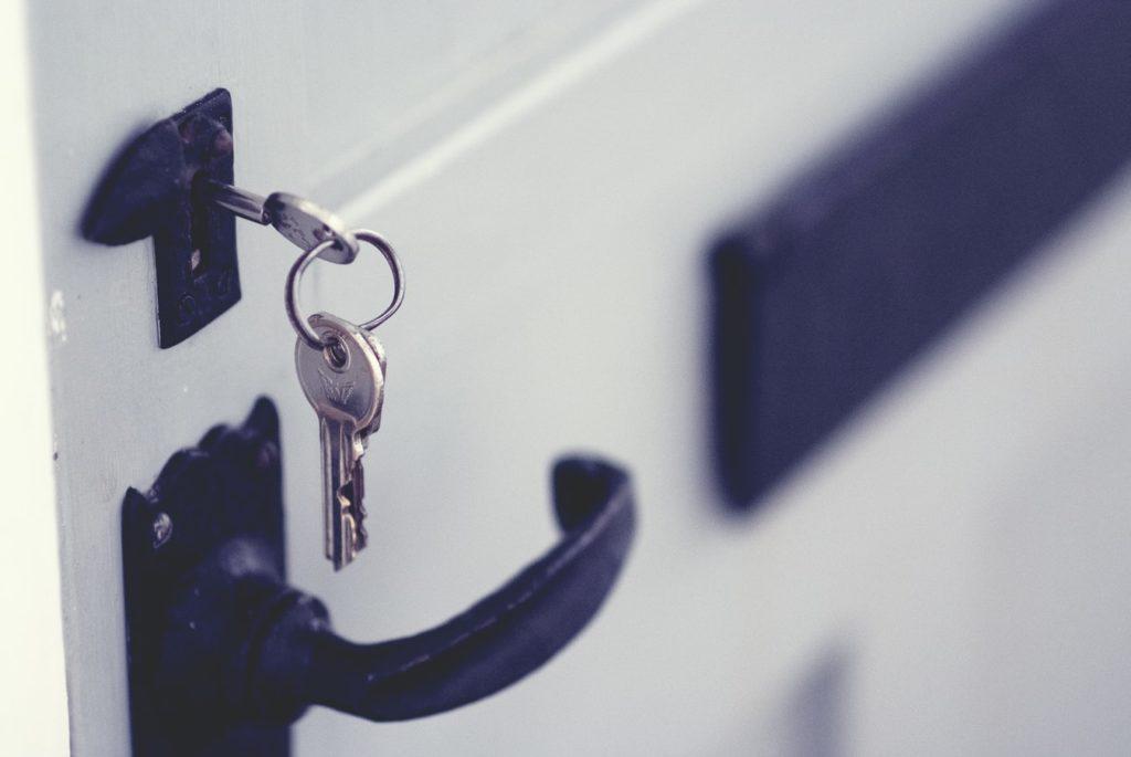 clés choses a faire déménagement porte