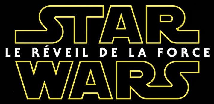 star wars film affiche logo
