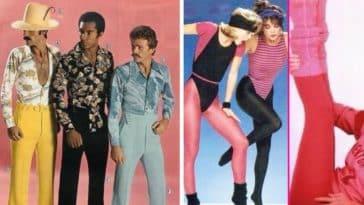 look des années 60 à 80
