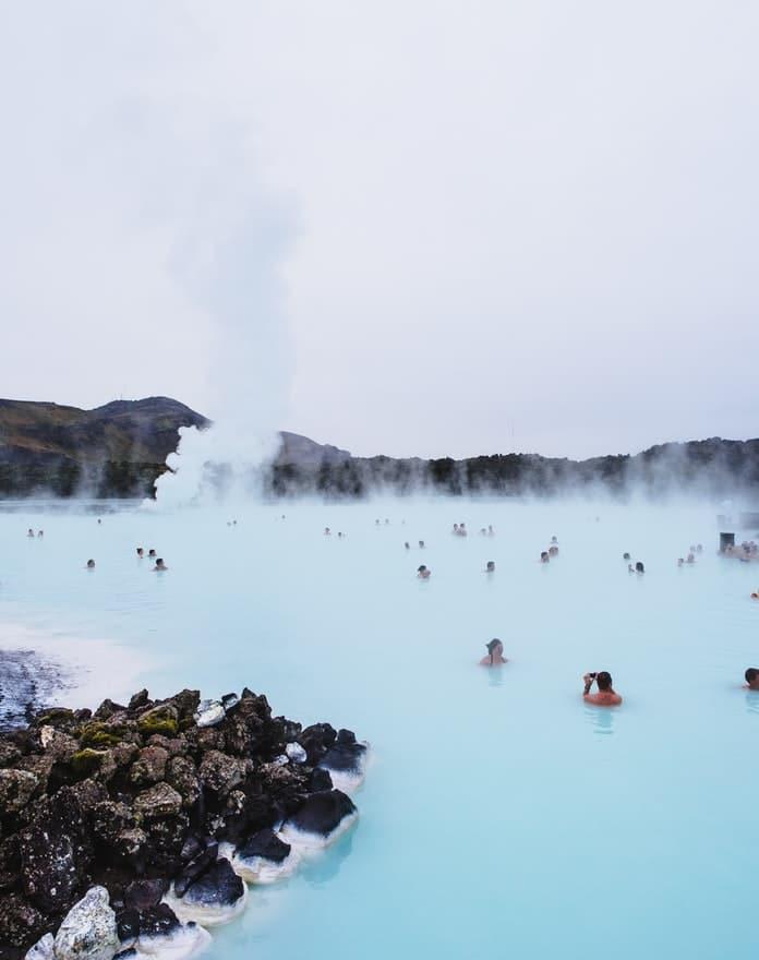 Blue lagoon vacances en Scandinavie pays nordiques sources chaudes