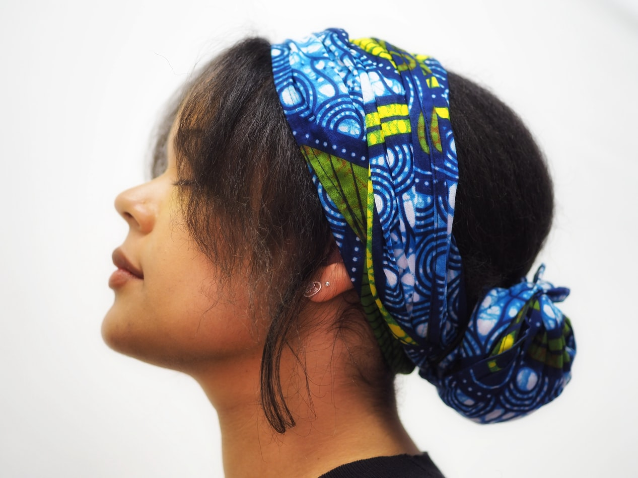 Cheveux bandana