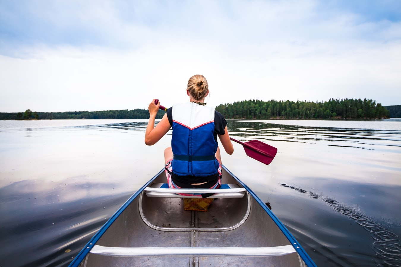kayak été vacances en Scandinavie pays nordiques