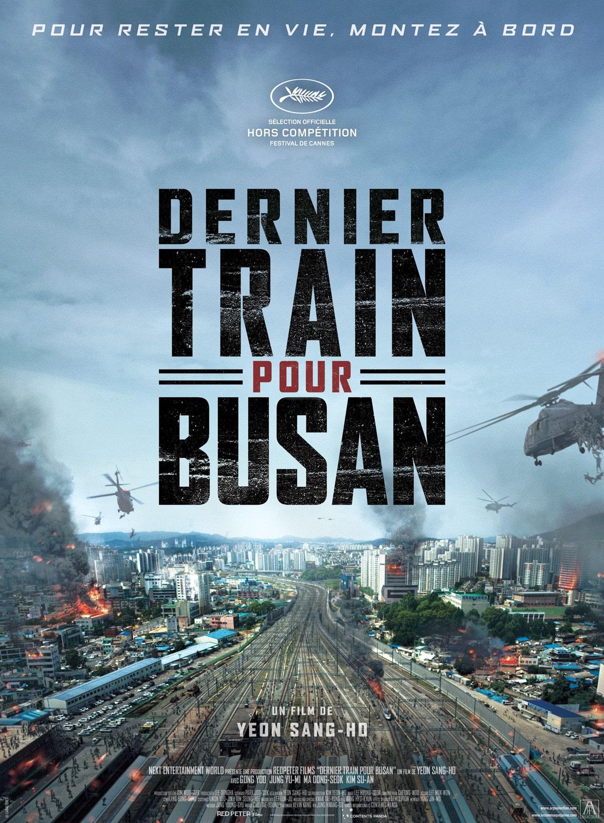 dernier train pour busan peninsula Film long-métrage zombie netflix