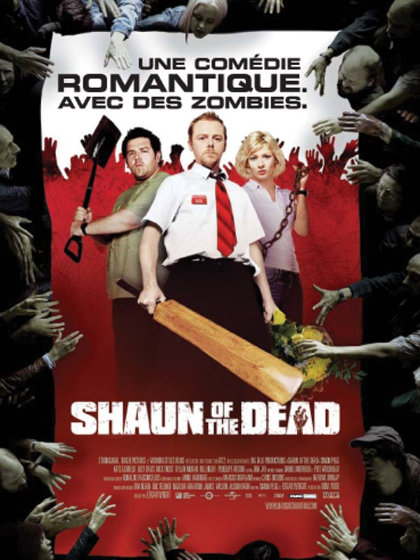 Shaun of the dead Film long-métrage mort-vivant drôle