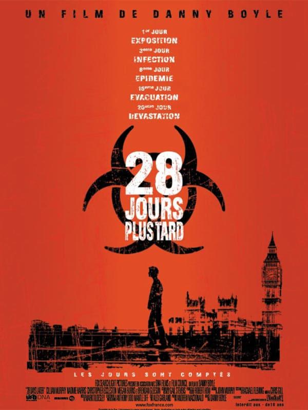 Film long-métrage infecté 28 jours plus tard
