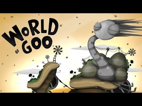jeux vidéo indépendant world of goo meilleurs
