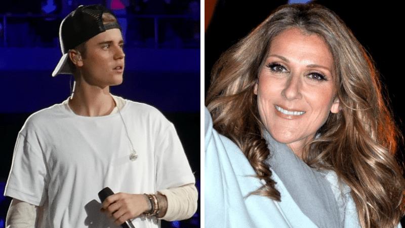 Justin Bieber Céline Dion ancêtres communs