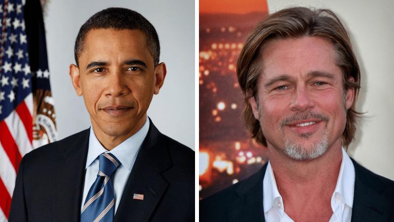 Brad Pitt Barack Obama ancêtres
