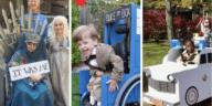 fauteuil roulant chaise handicape halloween déguisement costume