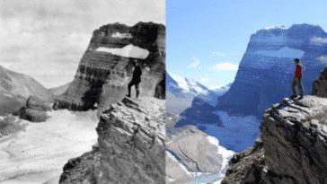 glaciers fonte recule dérèglement climatique changement