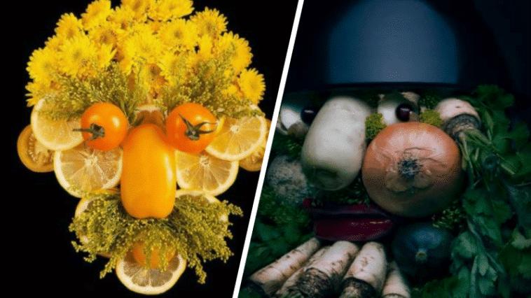 Giuseppe arcimboldo portraits fruits légumes maniériste