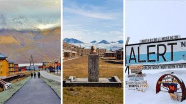 lieux habités froid nord monde pôle