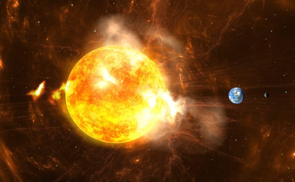 radiation solaire