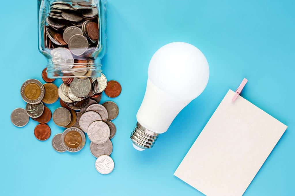 électricité facture réduire consommation énergie ampoules euro
