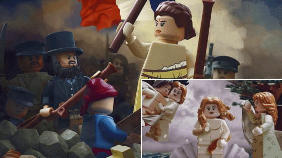 peinture classique briques LEGO refait