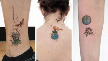 tatouages simples poétiques