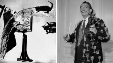 Salvador Dalí photos photographies clichés excentrique art surréaliste