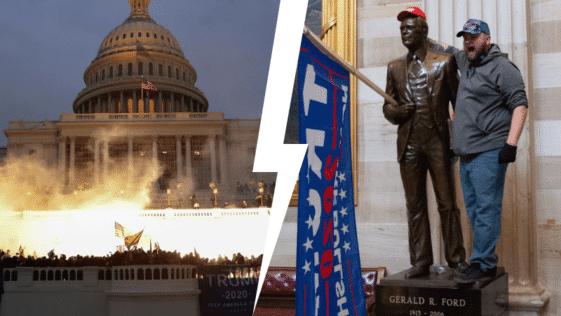 capitole assaut trump émeute Washington congrès parlement Etats-Unis