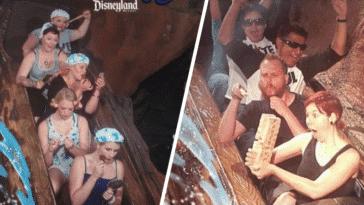 Disneyland floride Splash Mountain clichés photos-souvenirs attractions parc bûches