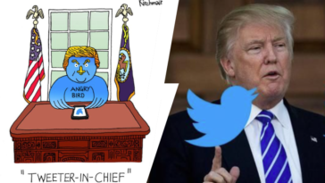 Donald Trump tweeter tweets odieux scandaleux pires