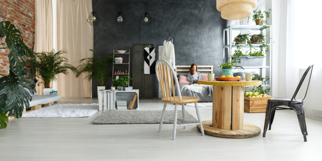 déco intérieur écologie meubles de récupération