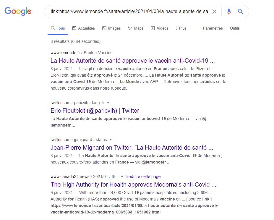 Google recherches astuces tips requêtes moteur de recherche