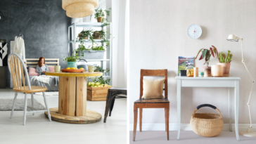 déco intérieure papier peint biodégradable environnement bien-être vie pratique
