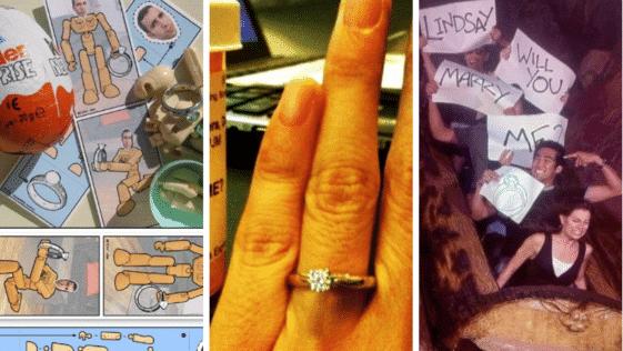 les meilleures demandes en mariage originales