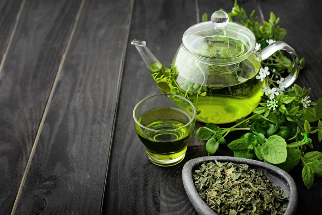 thé vert vertus bienfaits santé poids