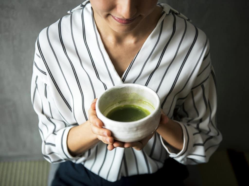 thé verts vertus bienfaits santé poids