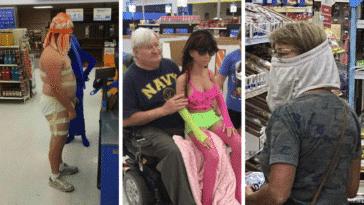 supermarchés walmart USA américains Amériques clients bizarres insolites