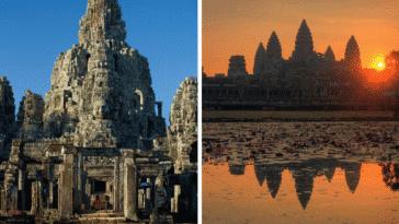 temples Angkor vat wat vestiges ruines