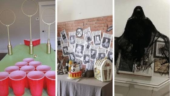 bricolages idées décorations Harry Potter Poudlard magie sorcier enfants fêtes anniversaires célébrations