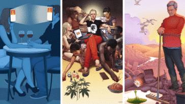illustrations problèmes société Daniel Garcia questions