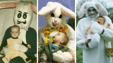 lapins pâques effrayants enfants flippants déguisements