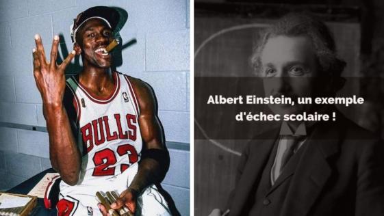 échecs inspirants personnes connues célèbres stars