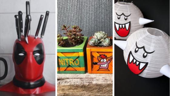 idées décorations déco geeks nerds DIY objets designs