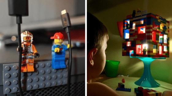 bricolages insolites lego recyclages briques
