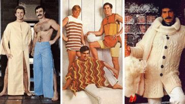 photos catalogue mode vintage homme 70 années 1970