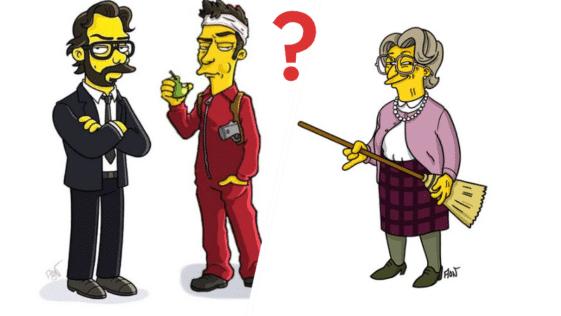 Simpson pop culture personnages