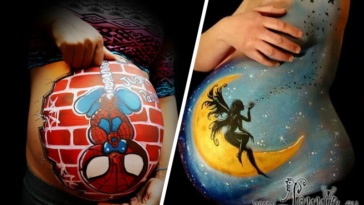 belly painting femmes enceintes ventre body peintures art