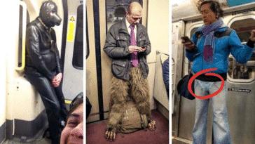 passagers usagers métro drôles insolites bizarres transports en commun