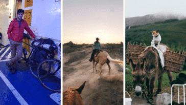 voyages thématiques âne vélo cheval France