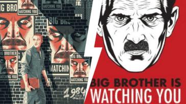 1984 George Orwell roman livre anticipation anecdotes