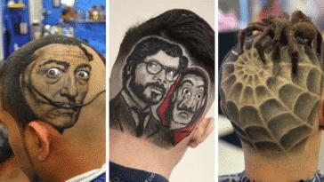 coupes coiffures artistiques tondeuses ciseaux homme coiffures